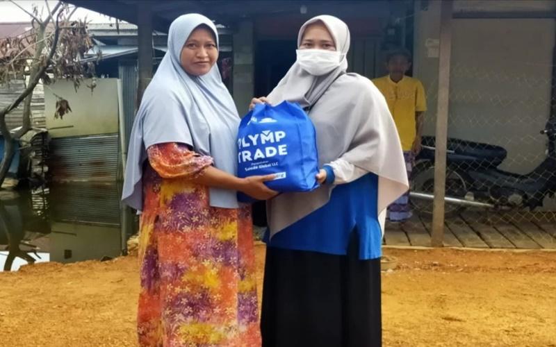Bantuan untuk korban banjir Kalsel