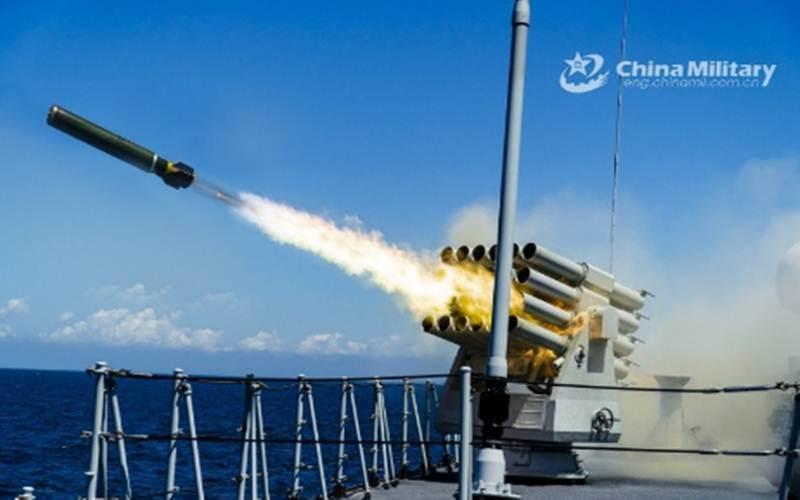 Ilustrasi-Kapal perusak radar milik Angkatan Laut China Hull 568 saat menjalani misi latihan tempur di Laut China Selatan, 18 Juni 2020./ANTARA - HO/ChinaMilitary