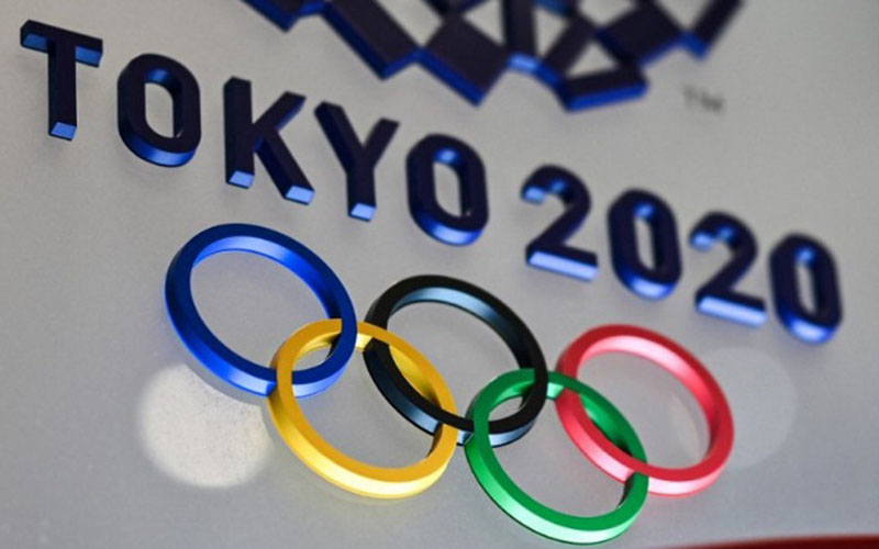 Logo Olimpiade Tokyo 2020/Antara - AFP