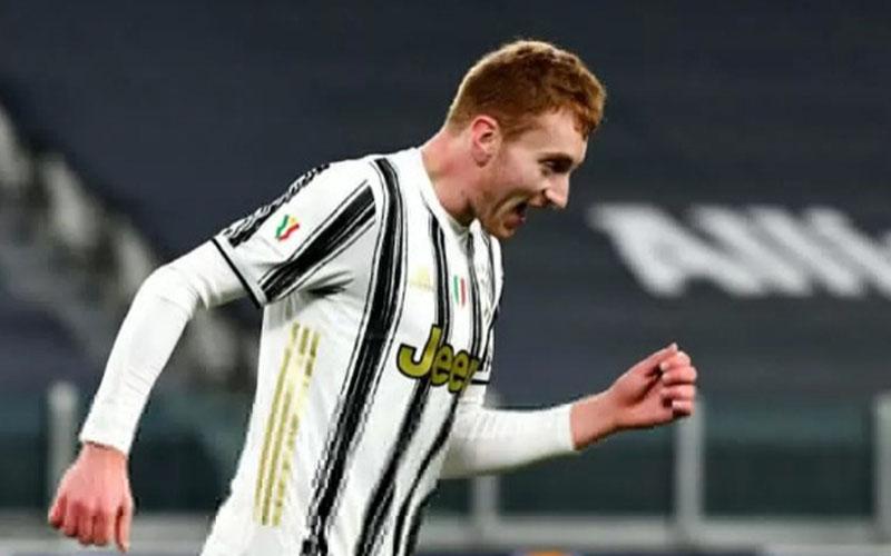 Pemain Juventus Dejan Kulusevksi/Antara - AFP