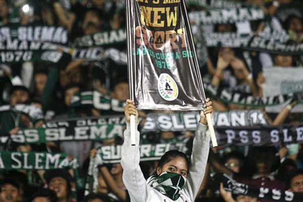 Suporter PSS Sleman - Liga-Indonesia.id