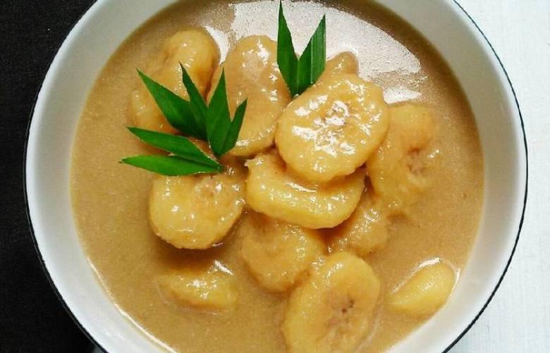 Kolak pisang menjadi menu berbuka puasa yang sering disajikan. - ilustrasi