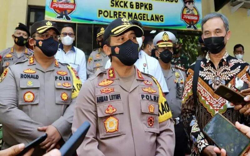 Kepala Polda Jawa Tengah, Komisaris Jenderal Polisi Ahmad Luthfi. - Antara/Humas Polda Jawa Tengah.