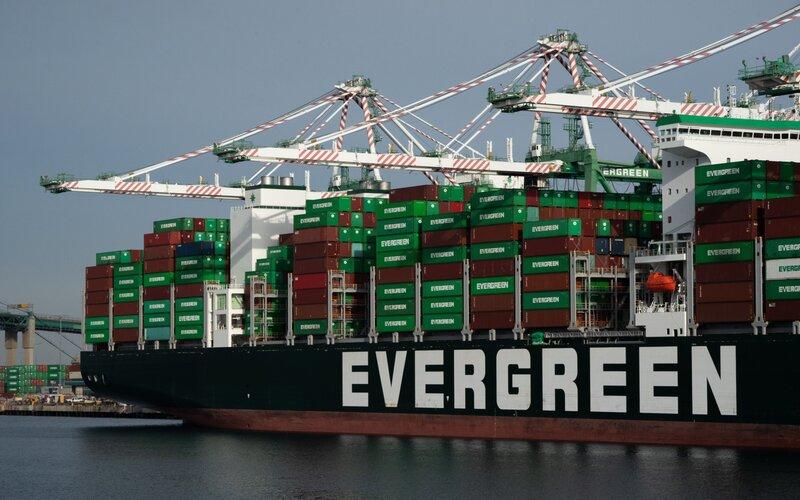 Kapal Evergreen Marine Corporation -  Bloomberg