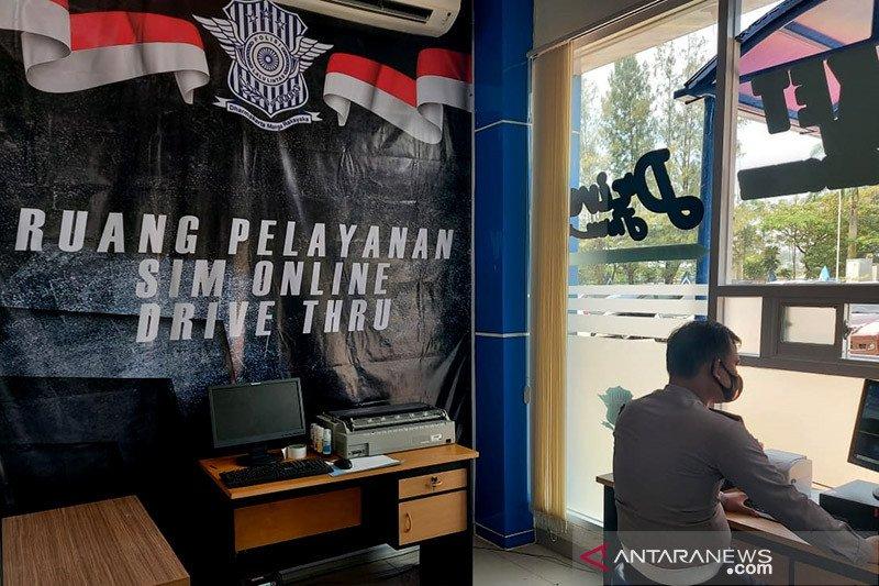 Ruang pelayann SIM Online. - Antaranews