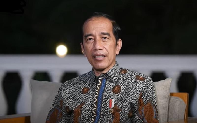 Presiden Joko Widodo memberikan keterangan terkait polemik impor beras melalui kanal Youtube Sekretariat Presiden  -  Youtube