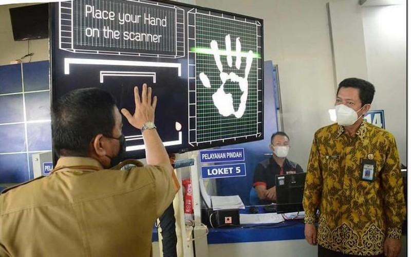 Digitalisasi layanan administrasi kependudukan Pemerintah Kabupaten Ogan Komering Ilir, Sumatra Selatan.  - Istimewa