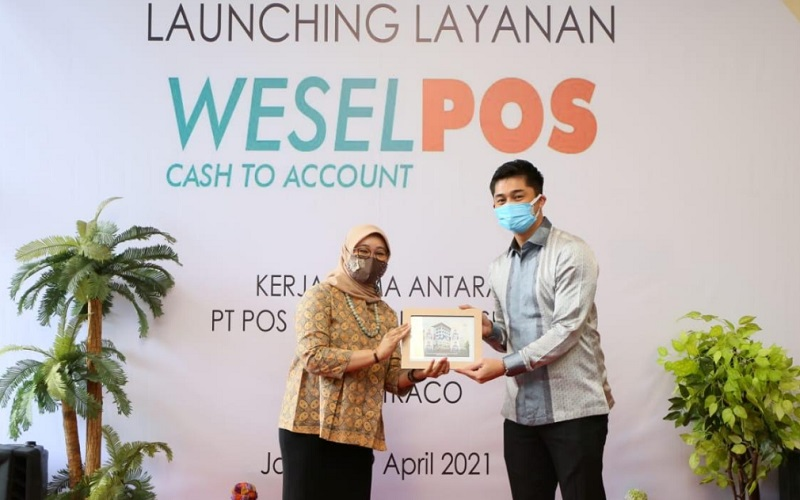 Peluncuran layanan Weselpos Cash to Account Instamoney