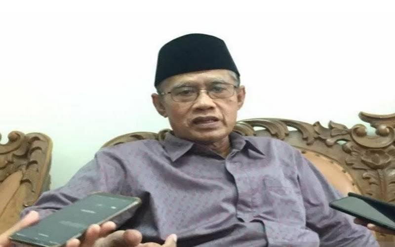 Ketua Umum Pimpinan Pusat (PP) Muhammadiyah Haedar Nashir. - Antara