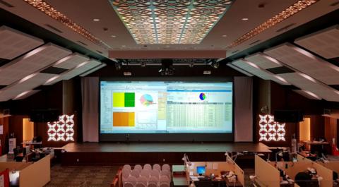 Foto: Fasilitas Integrated Optimization Decision Support Center (IODSC) yang dirancang dan dikelola PT CPI di Minas, Siak.