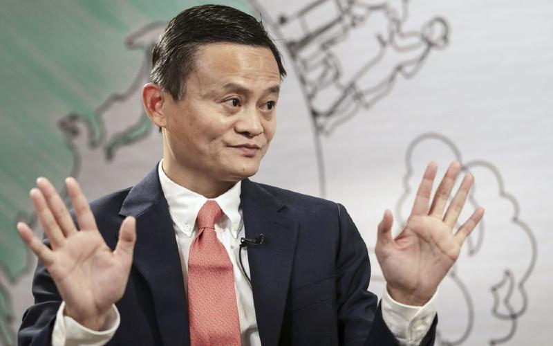 Jack Ma, yang kekayaan pribadinya mencapai US55 miliar, menghilang dari pandangan publik selama hampir tiga bulan setelah komentarnya tentang aturan keuangan global.  - Bloomberg