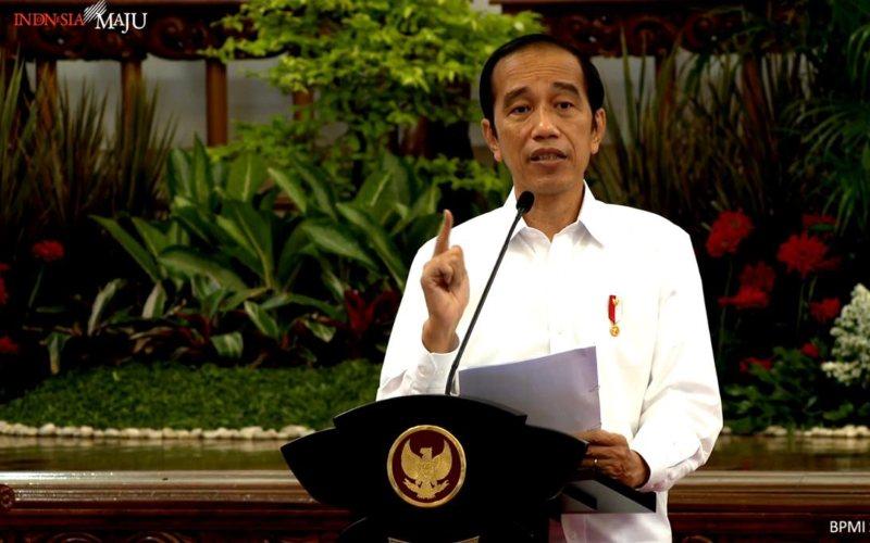 Presiden Joko Widodo menyampaikan arahan pada Sidang Kabinet Paripurna di Istana Negara, 2 November 2020  -  Youtube Setpres