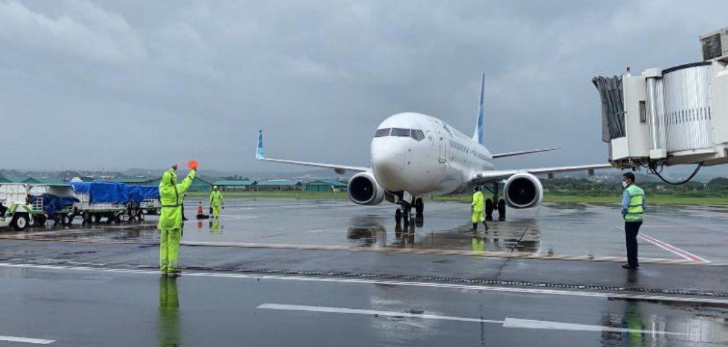 Bandara Ahmad Yani Semarang.  - Bisnis.com