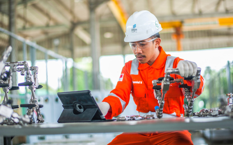 Penguasaan aspek teknologi 4.0 menjadi salah satu fondasi utama PGN untuk mencapai keberhasilan pemanfaatan gas bumi di seluruh sektor.  - PGN