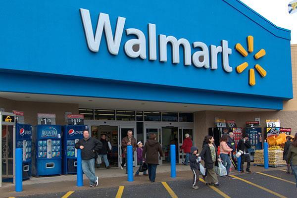 Salah satu gerai Walmart di AS - Reuters