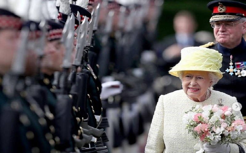 Ratu Elizabeth berusia 94 tahun memimpin Kerajaan Inggris. JIBI - Bisnis/Nancy Junita @theroyalfamily