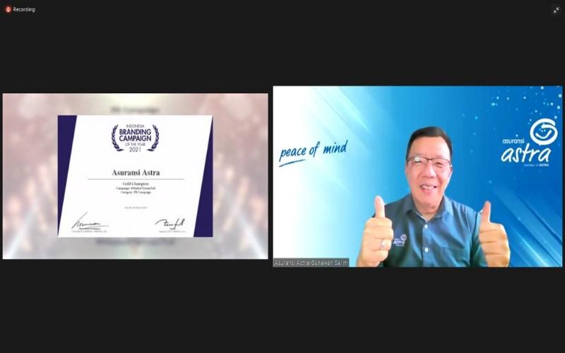 Chief Marketing Officer - Retail Business Asuransi Astra Gunawan Salim - Istimewa