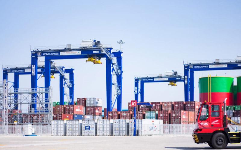 Suasana di Pelabuhan Kuala Tanjung Port and Industrial Estate.  - Dok. Pelindo 1