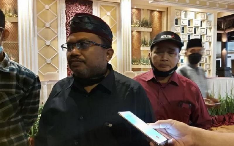 Minarto, tokoh masyarakat Kunciran Jaya yang memberikan apresiasi atas kinerja kepolisian dalam membongkar mafia tanah di Kota Tangerang atas lahan seluas 45 hektare.  - Antara\r\n