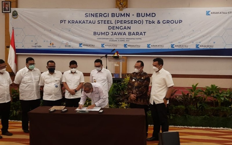 Sinergi Krakatau Steel dan BUMD Jabar - Istimewa