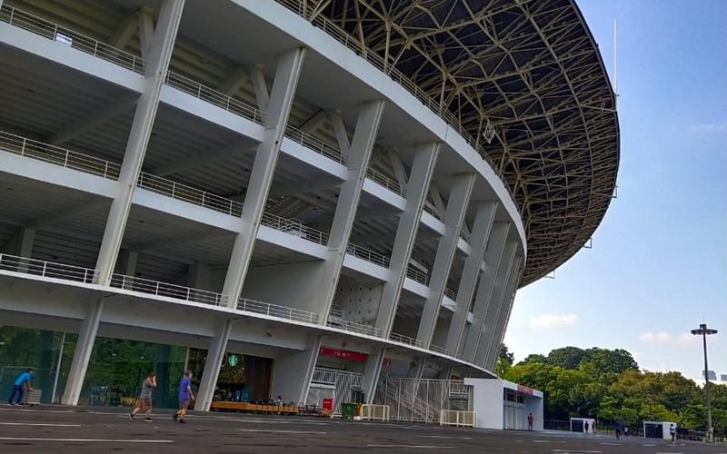 Kawasan Stadion Gelora Bung Karno - Bisnis/Andhika