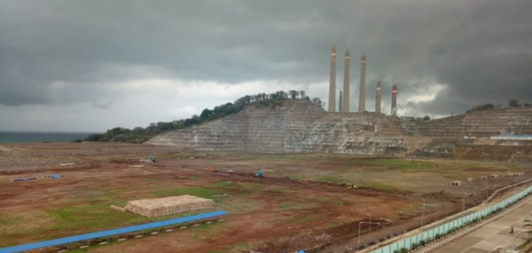 Pembangkit Listrik Tenaga Uap (PLTU) Jawa 9&10. (ANTARA - Istimewa).