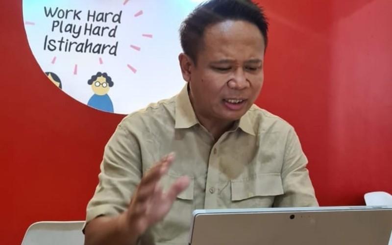 Calon ketua Ikatan Alumni ITB Gembong Primadjaya - Istimewa