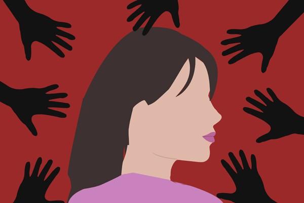 Ilustrasi kekerasan terhadap perempuan - Antara