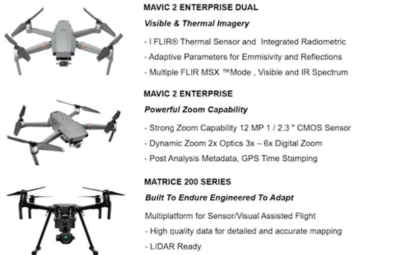 Layanan drone yang dipamerkan Surveyor Indonesia pada pameran Hannover Messe 2021 - Istimewa