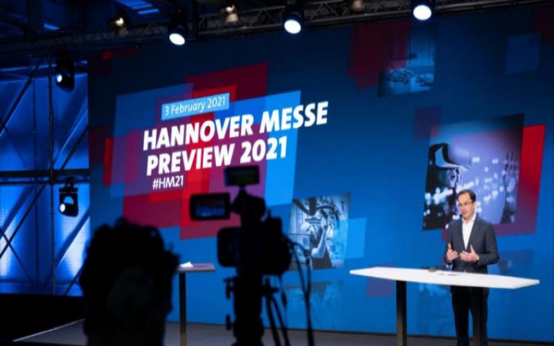 Hannover Messe 2021 akan menampilkan digitalisasi presentasi produk, program komprehensif dan business matchmaking berbasis perangkat lunak.  - Hannover Messe