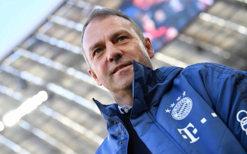 Pelatih Bayern Munchen Hans-Dieter Flick. - Bundesliga.com