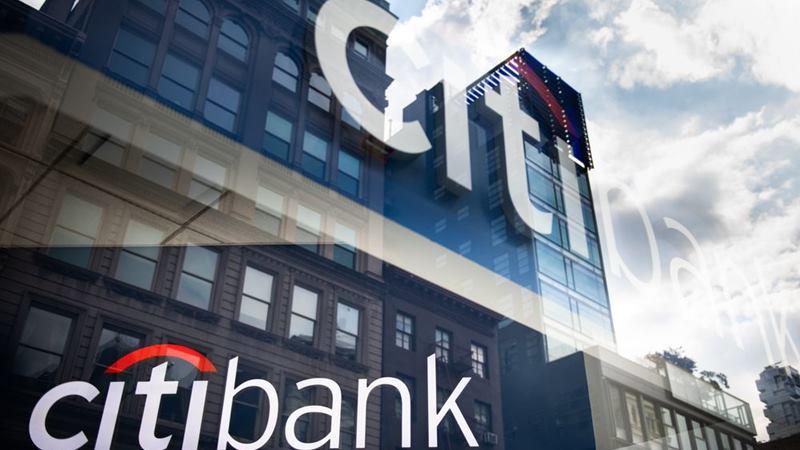 Kantor Citibank di New York. - Bloomberg / Mark Kauzlarich