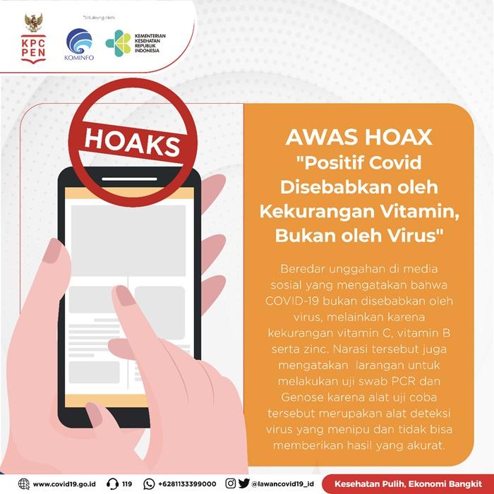 Hoaks covid/19