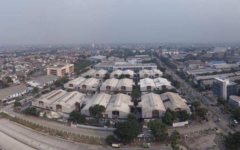 Ilustrasi - Lansekap Jakarta Industrial Estate Pulogadung di Jakarta Timur. - jiep.co.id