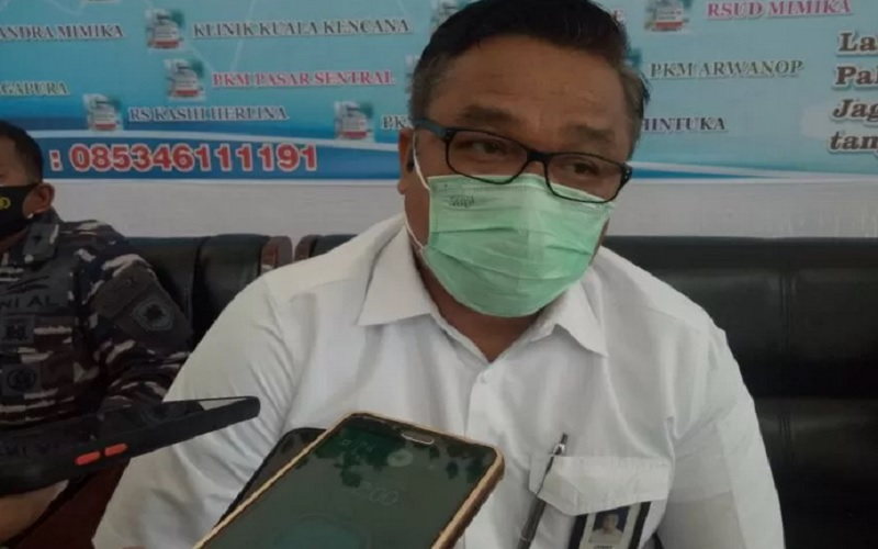 Vice President PT Freeport Indonesia Bidang Hubungan Pemerintahan Jonny Lingga. - Antara