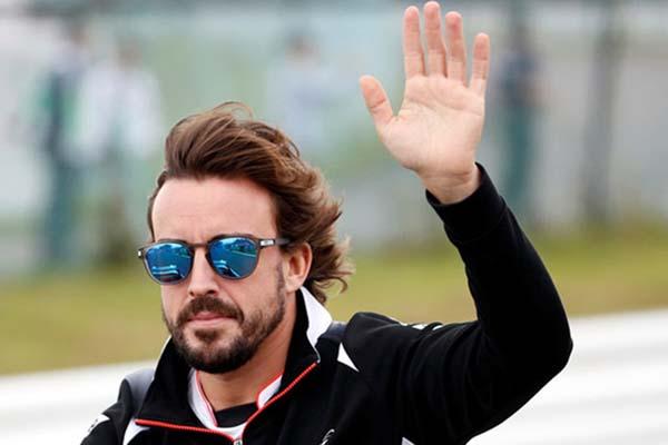 Pebalap Alpine Fernando Alonso - Reuters