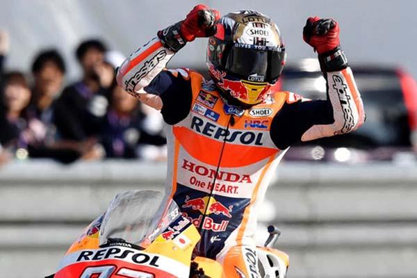 Pebalap Repsol Honda Marc Marquez - Reuters