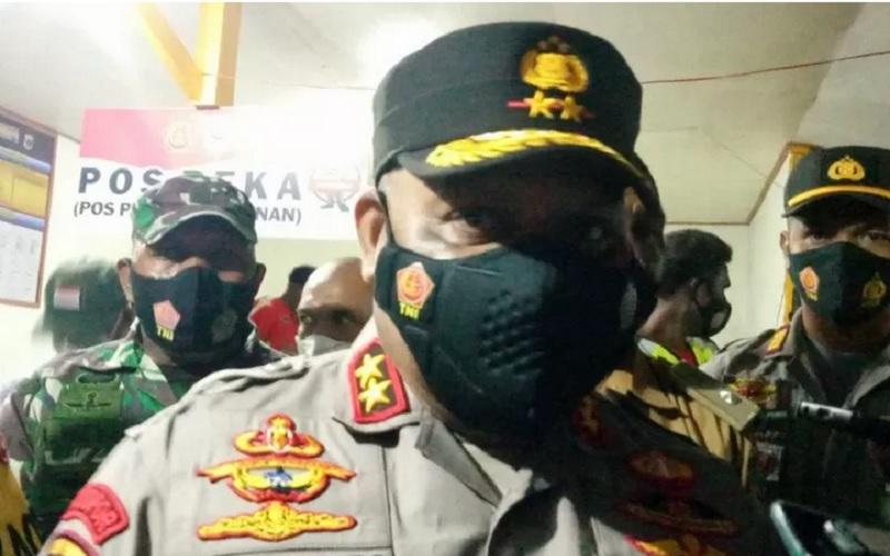 Kapolda Papua Irjen Pol Mathius D Fakhiri. - Antara