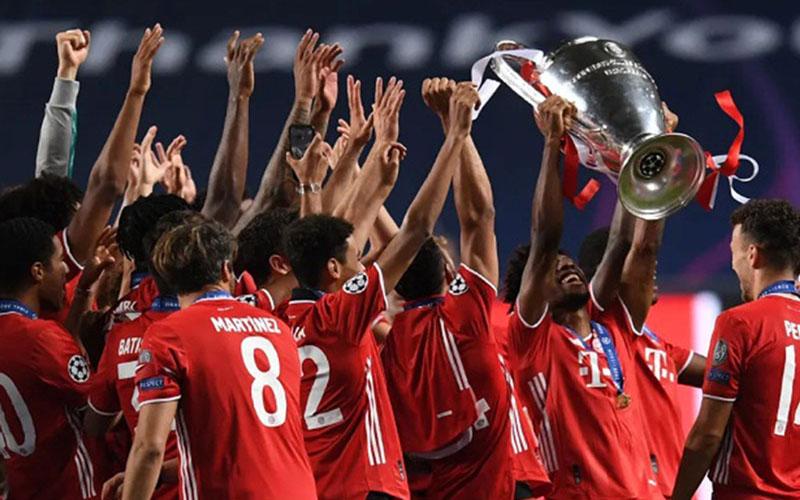 Bayern Munchen ketika tampil sebagai juara Liga Champions 2019-2020. - Bundesliga.com