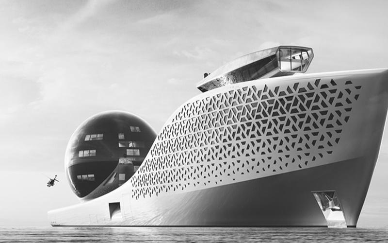 Atomic superyacht - istimewa