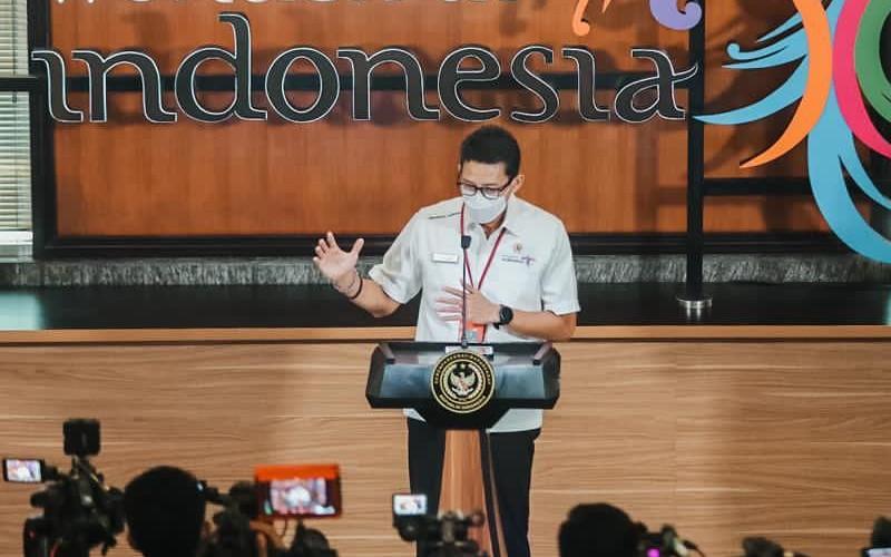 Menteri Pariwisata dan Ekonomi Kreatif Sandiaga S. Uno.  - Kemenparekraf
