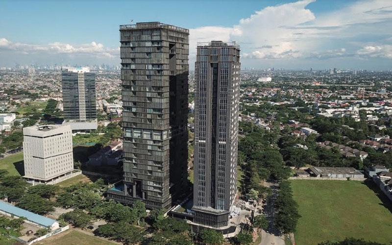 Apartemen Saumata Suites di Alam Sutera, Tangerang. - Istimewa
