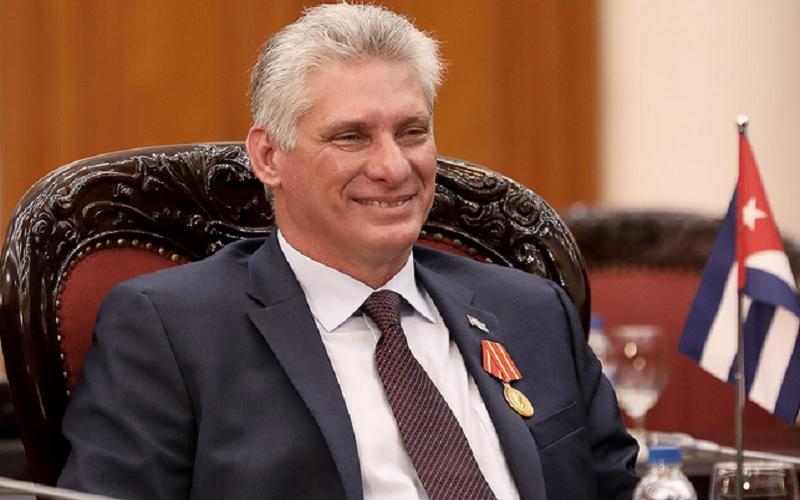 Miguel Daz-Canel dinobatkan sebagai Ketua Umum Partai Komunis Kuba (PCC) sekaligus menjadi orang pertama menjadi presiden tanpa nama keluarga Castro yang telah memimpin Kuba sejak revolusi 1959. - Istimewa