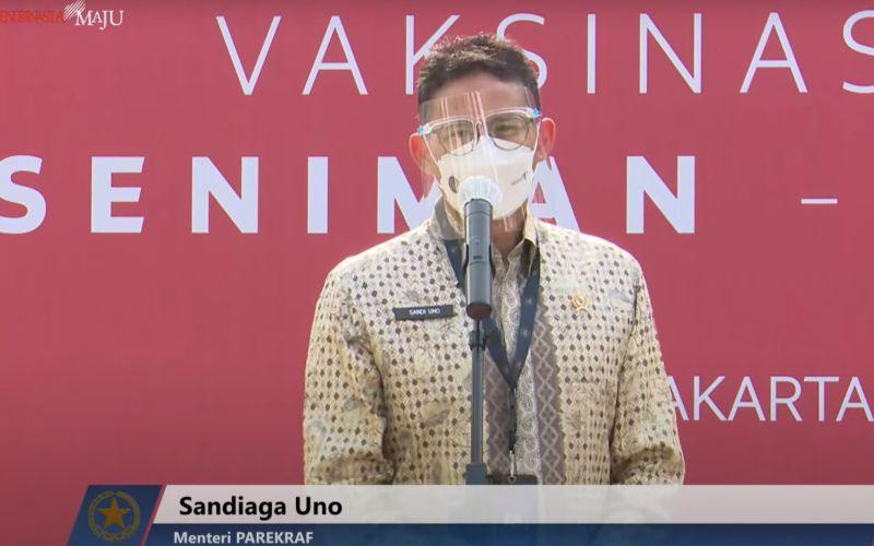 Menteri Pariwisata dan Ekonomi Kreatif Sandiaga Uno / Dok. Setpres