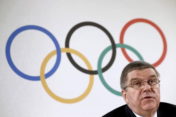 Presiden IOC Thomas Bach - Reuters