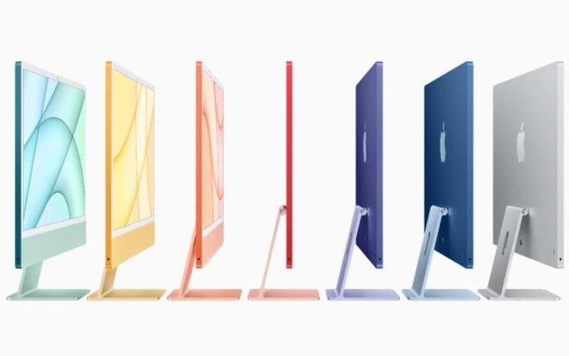 iMac generasi terbaru dari Apple keluaran tahun 2021. (apple.com)