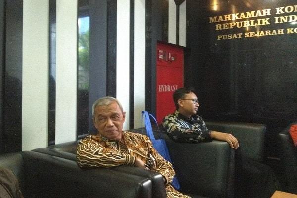 Mantan Ketua Komisi Pemberantasan Korupsi Busyro Muqoddas. -Samdysara Saragih - Bisnis.com