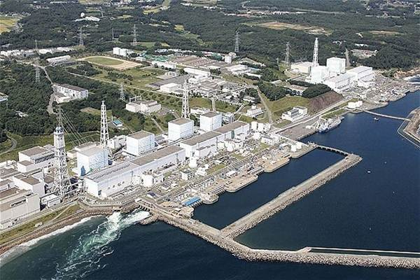 Reaktor nuklir Fukushima di Jepang - Istimewa