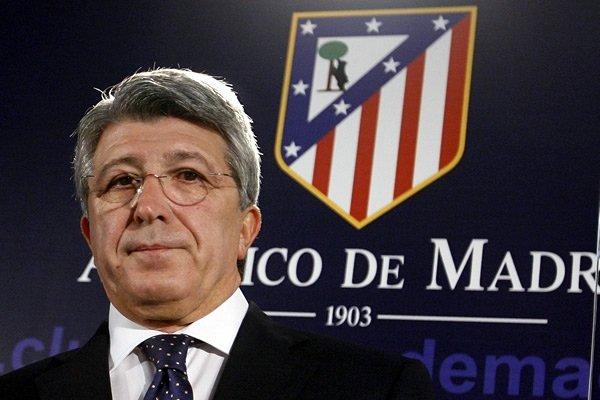 Presiden Atletico Madrid Enrique Cerezo - sifutbol.com