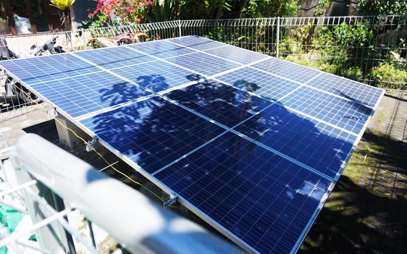 Tenaga surya untuk pengolahan air Danau Batur